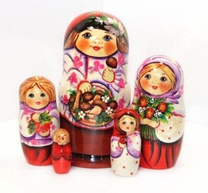 Matryoshka Ivan& Mushrooms