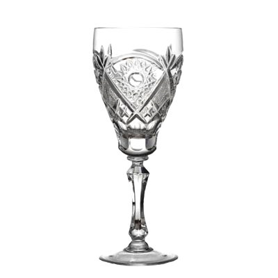 Crystal White Wine Glasses Set of 6