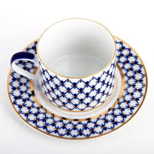 Сup with saucer 300 ml/16 cm Solo Cobalt Net
