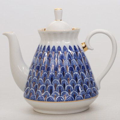 Forget-Me-Not Brewing Teapot