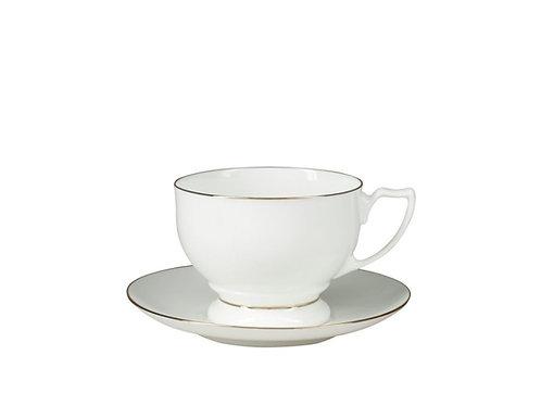"Tea Cup&Saucer ""Pearl"""