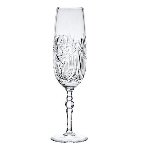 Crystal Flute Glasses Set of 6