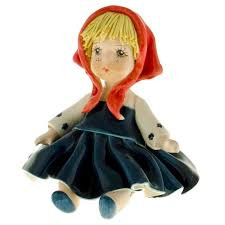 Doll#01& red scarf