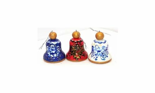 X-mas Wooden Bell