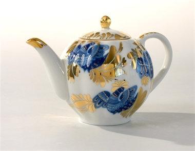 Golden Garden Tea Pot  600ml