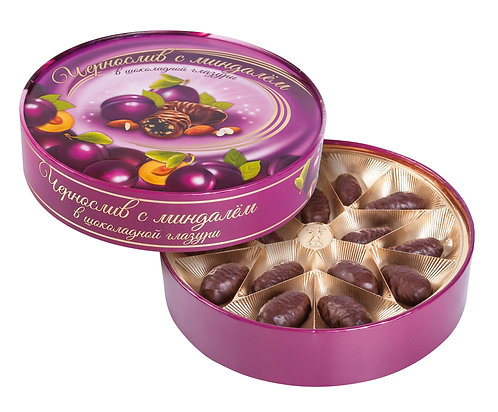 Chocolate Prunes with Almond