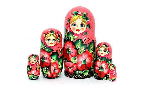 Matryoshka Flora Pink