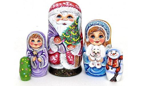 Matryoshka Santa