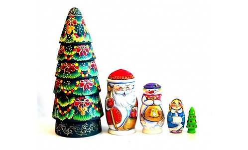 "Matryoshka Set ""X-mas"""