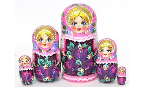 Matryoshka Summer Pink