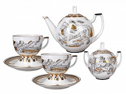 Tea Set Andante Russian Modern 6person/14pcs