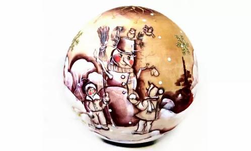 X-mas Wooden Ball