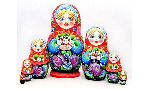 Matryoshka Flowers