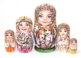 Matryoshka Friends