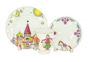 """3 pieces set May """"Ballet Little Humpbacked Horse"""""""