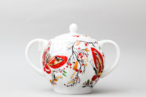 "«Butterfly"" Sugar Bowl"