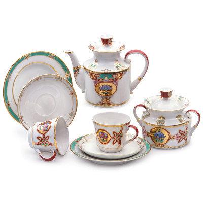 TEA SET BYZANTIUM for 6 persons/20pcs