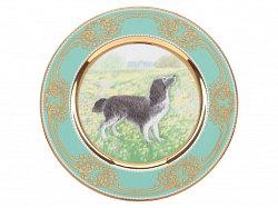 Gift Set Decor Plate Spaniel
