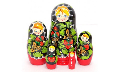 Matryoshka Strawberry