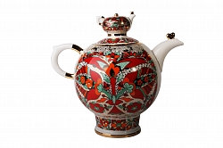 TEA POT FAMILY RED ROOSTER 9 CUPS 60.9 OZ/1800 ML