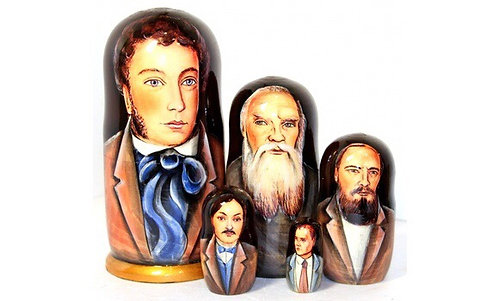 Matryoshka Russian Writers