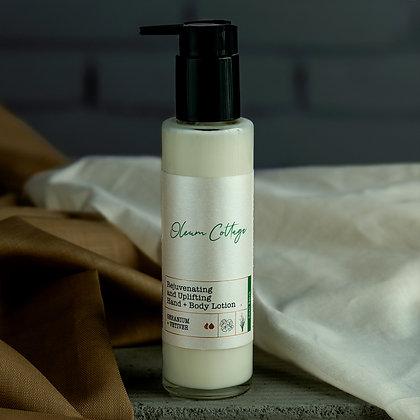 Natural body lotion