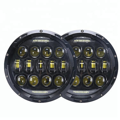 7 inch round LED headlight assemblies