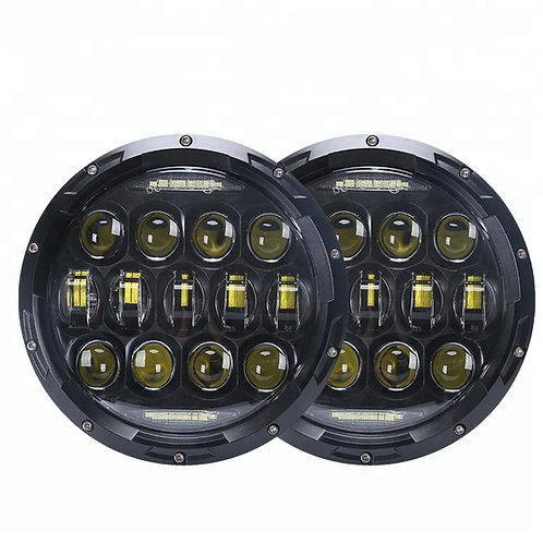 7 inch round LED headlight assemblies