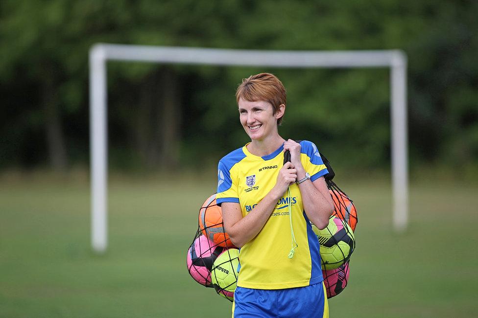 Football portrait photographer UK
