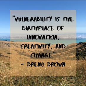 Embracing Vulnerability & Acknowledging Shame