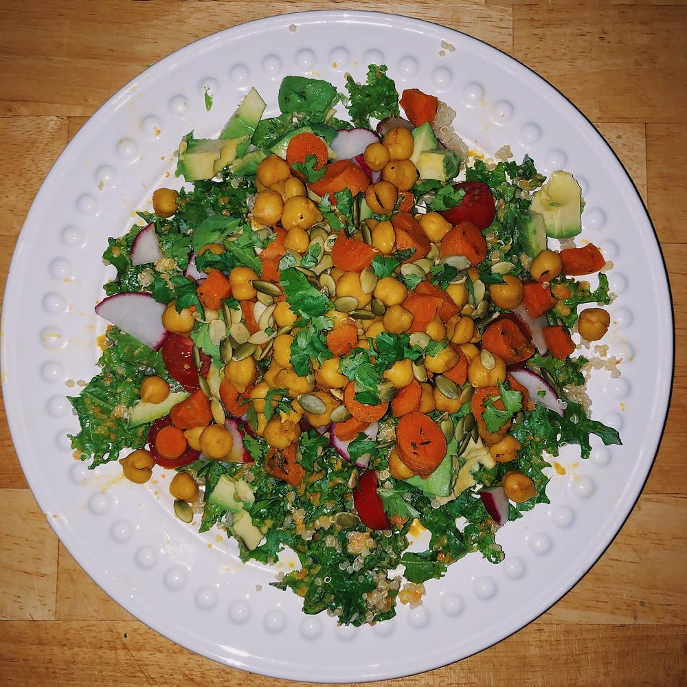 plant based, vegan recipes, gut health, fiber rich foods, plant protein,