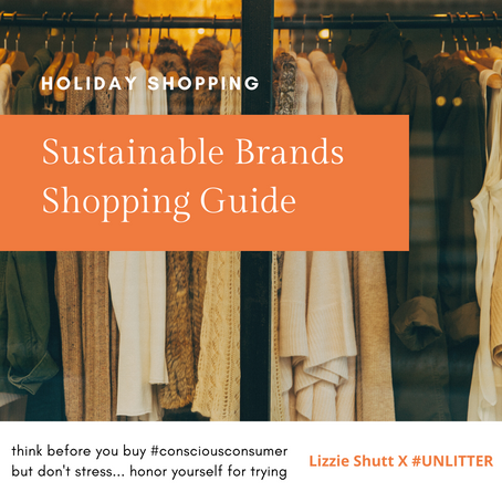 Sustainable Brand Shopping Guide