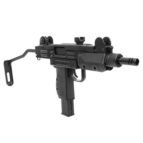Rifle Submetralhadora de Pressão KWC GBB CO2 Mini Uzi Black 4.5mm
