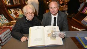 Signature chez Galignani Paris avec Pierre Le-Tan