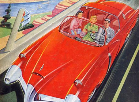 La voiture du futur selon Raymond Loewy