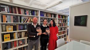 Avec mes éditrices new-yorkaises, chez la plus chic des maisons d'édition américaines, Other Press