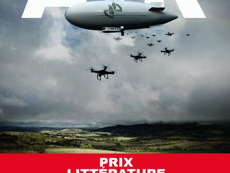 """""""AIR"""", Prix Littérature Talents d'Aveyron, attribué par le Conseil départemental de l'Aveyron"""