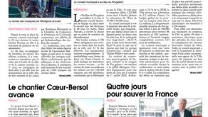 """Courrier de la Gironde : """"Qui aurait pu en parler avec autant d'émotion et de justesse ?"""""""