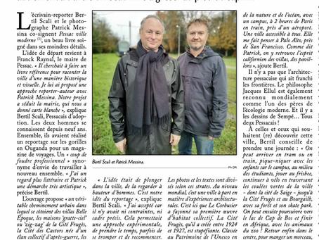 "Courrier de Gironde : ""Une balade littéraire"""