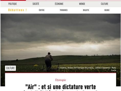 """Marianne : """"Air""""… et si une dictature verte installait l'écologie par la force ?"""
