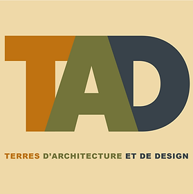 Logo Terres d'architecture et de design.
