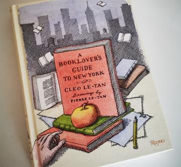 Les librairies new-yorkaises de Cleo et Pierre Le-Tan