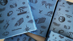 """Les Agendas Louis Vuitton """"Histoires de voyageurs"""""""
