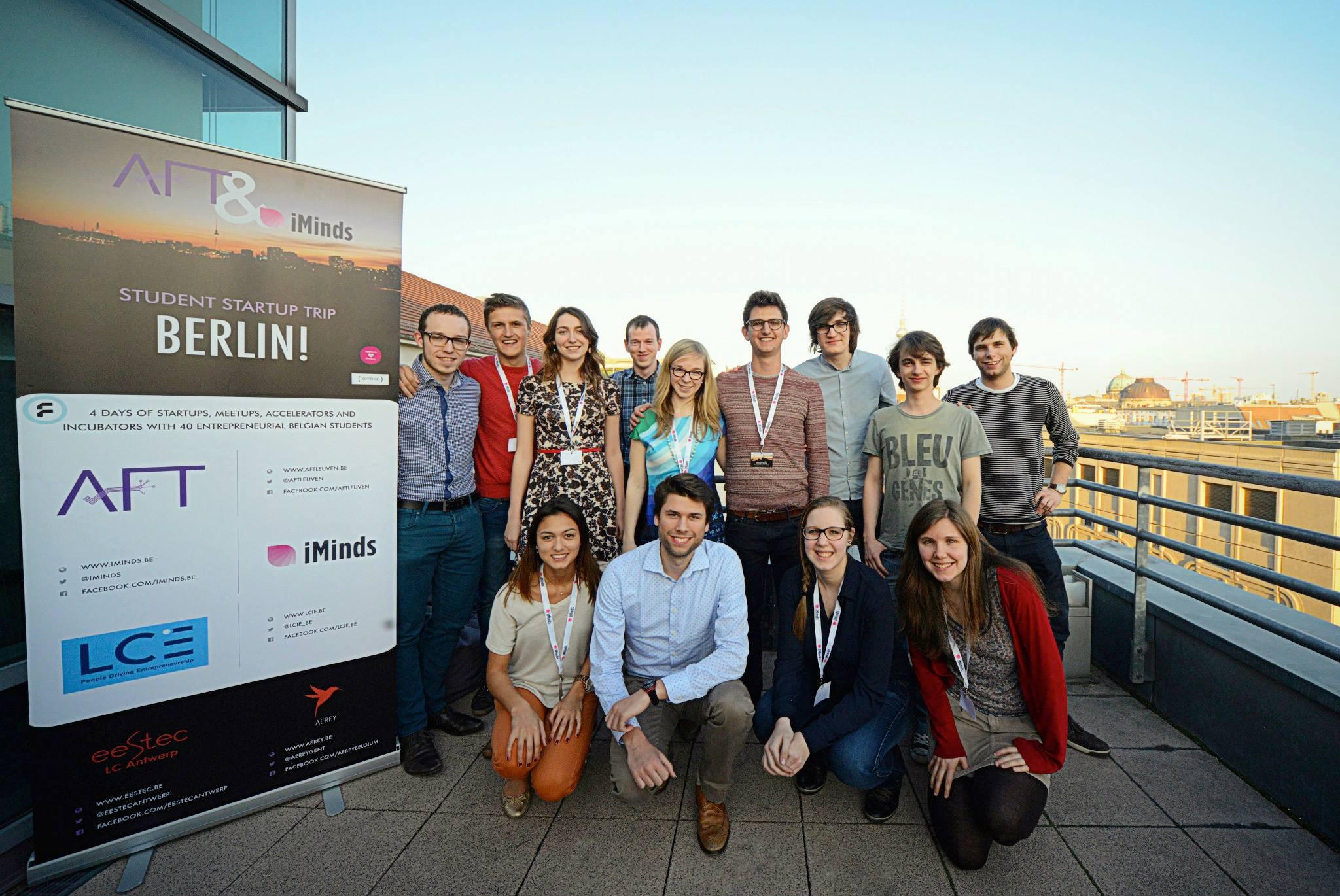 Student Startup Trip Berlijn 2015