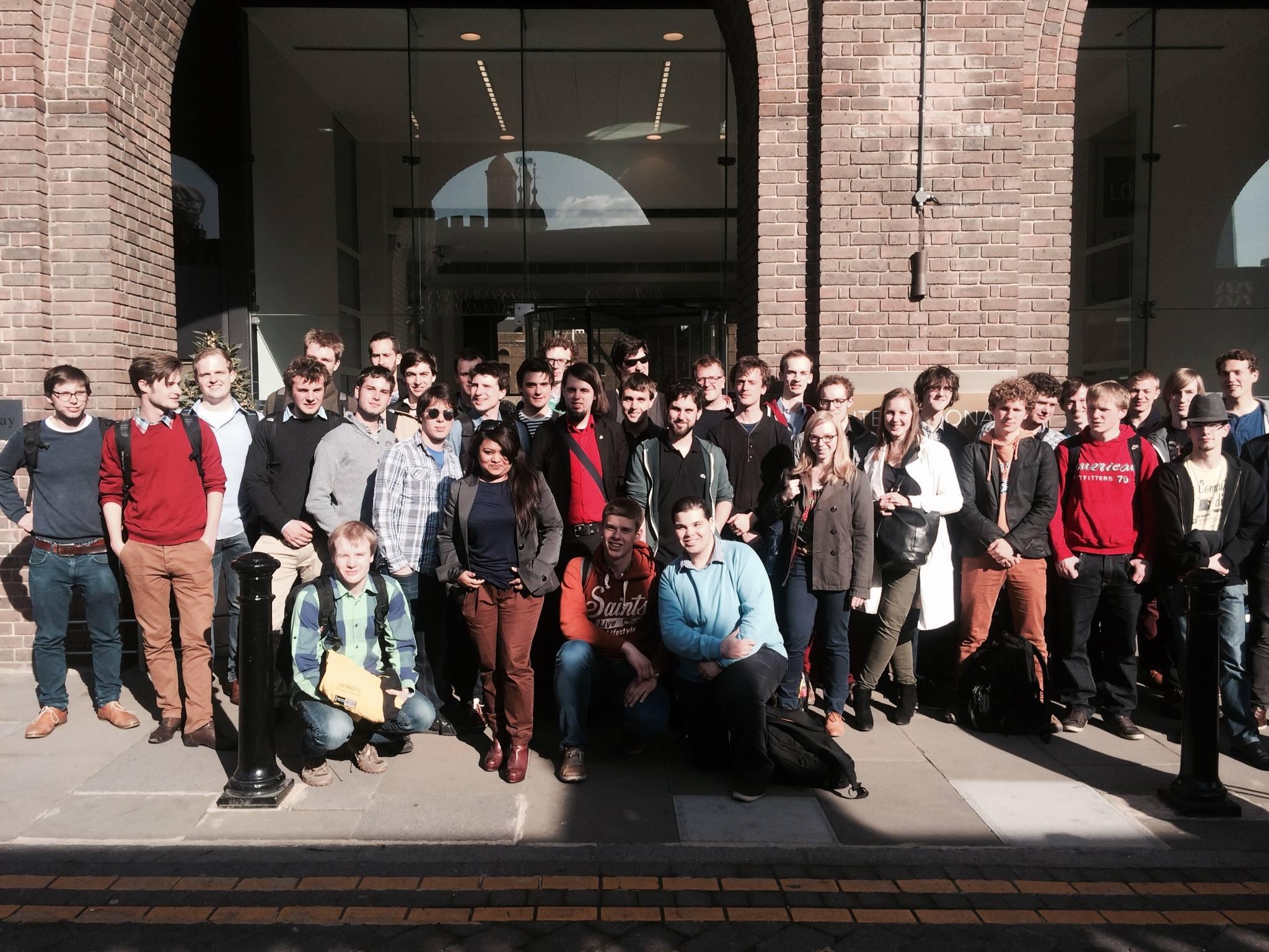 Student Startup Trip Londen 2014