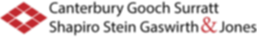 Canterbury Gooch Surratt Shapiro Stein Gaswirth & Jones logo