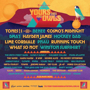 YOURS & OWLS FESTIVAL DROP MAMMOTH LINEUP