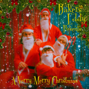 BAKERS EDDY SHARE SANTA THEMED VISUAL FOR 'A VERRY MERRY CHRISTMAS'