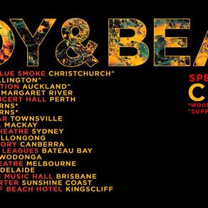BOY & BEAR CANCEL REGIONAL DATES OF SUCK ON LIGHT TOUR