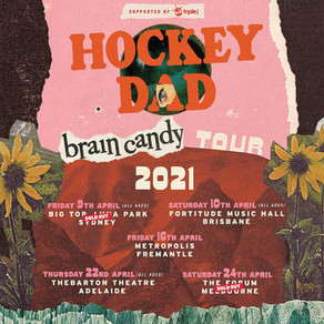 HOCKEY DAD RESCHEDULED TOUR DATES ANNOUNCED